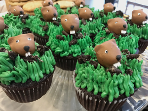 Groundhog Day Custom Cupcakes from The Able Baker