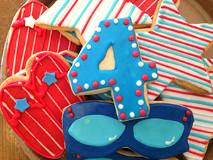 4th of July Cookies from The Able Baker