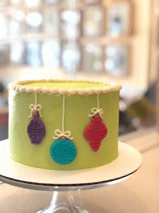 Christmas Ornament Cake