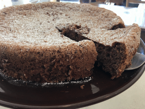 Coffee Pecan Torte from The Able Baker