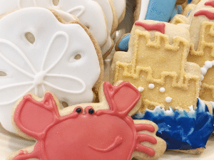Beachy Cookies from The Able Baker