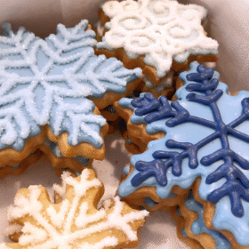 Christmas Sugar Cookie Baskets