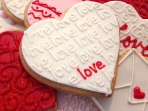 Valentines Day Cookies from The Able Baker