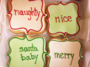 Christmas Sugar Cookies from The Able Baker