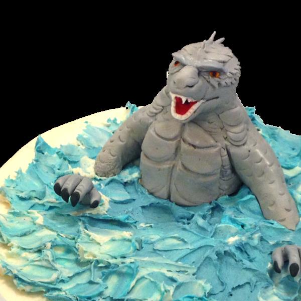 Custom Fondant Monster from The Able Baker