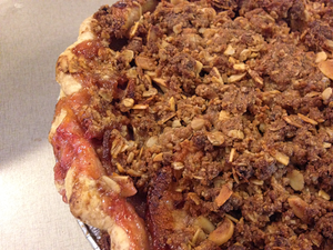 Cranberry Apple Pie from The Able Baker